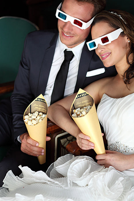 Hosting a wedding popcorn bar? Here are a few things to keep in mind.