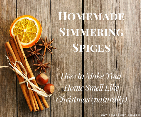 How to make homemade simmering spices and make your home smell like Christmas naturally