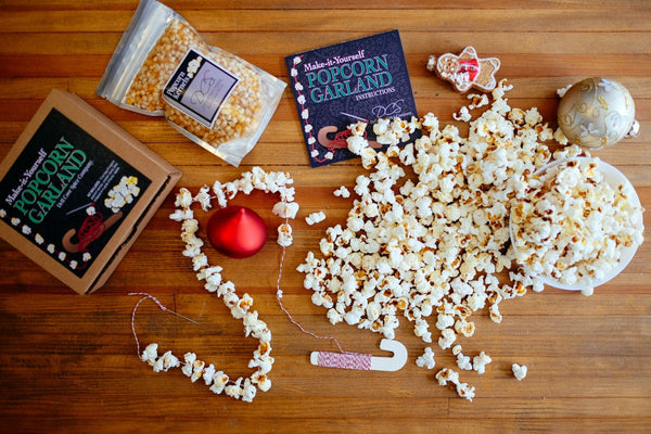 Popcorn Garland Kit - Make Your Own Christmas Garland