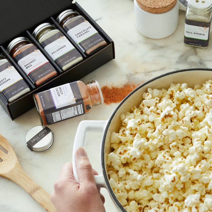 Custom popcorn seasoning gift set of 8 popcorn spices