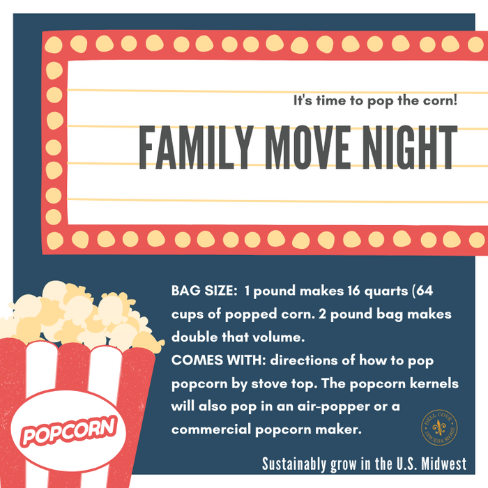 popcorn instruction card - popcorn in bulk - dell cove spices and more co - 800 x 800