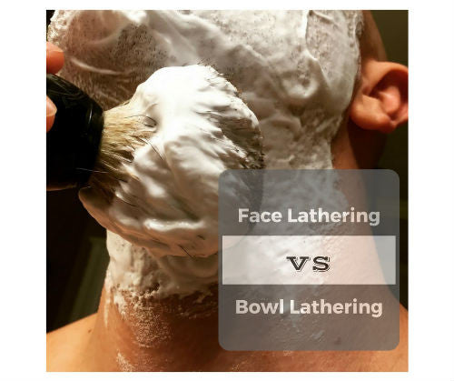 Best Lather - Face Lathering vs Bowl Lathering
