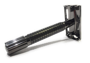Gunmetal Butterfly Safety Razor
