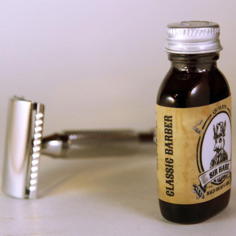 Classic Barber Head Shaving Oil
