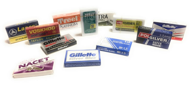 Double edge razor blades sampler pack