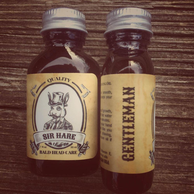Gentleman Head Shaving Oil