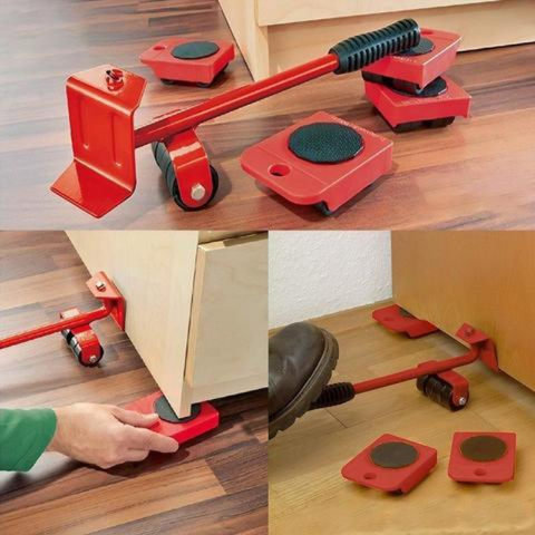 heavy furniture roller move tool, furniture lifter mover tool set, furniture lifter and mover tool