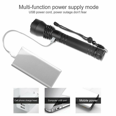 brightest rechargeable Led flashlight, most powerful flashlight, best rechargeable flashlight