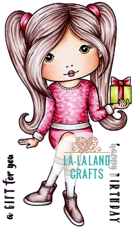 La La Land- Birthday Gift Molli Rubber Stamp