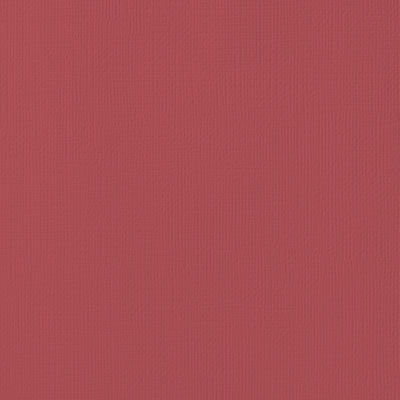 Textured Cardstock - Cranberry