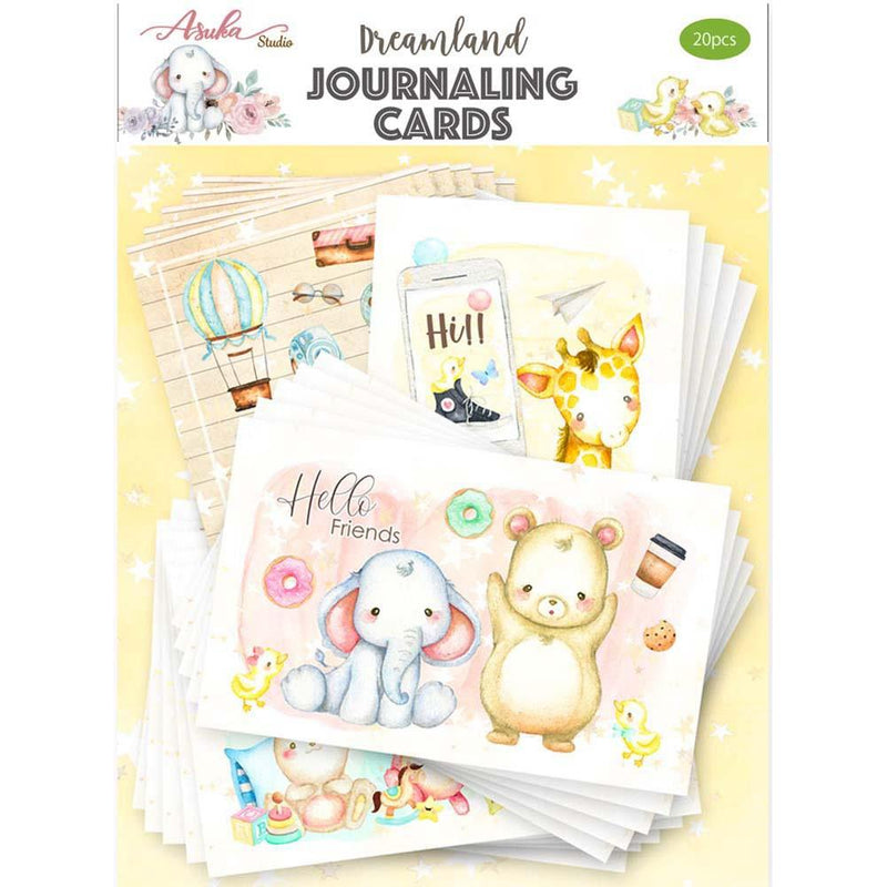 Asuka Studio - Dream Land - Journal Card Pack