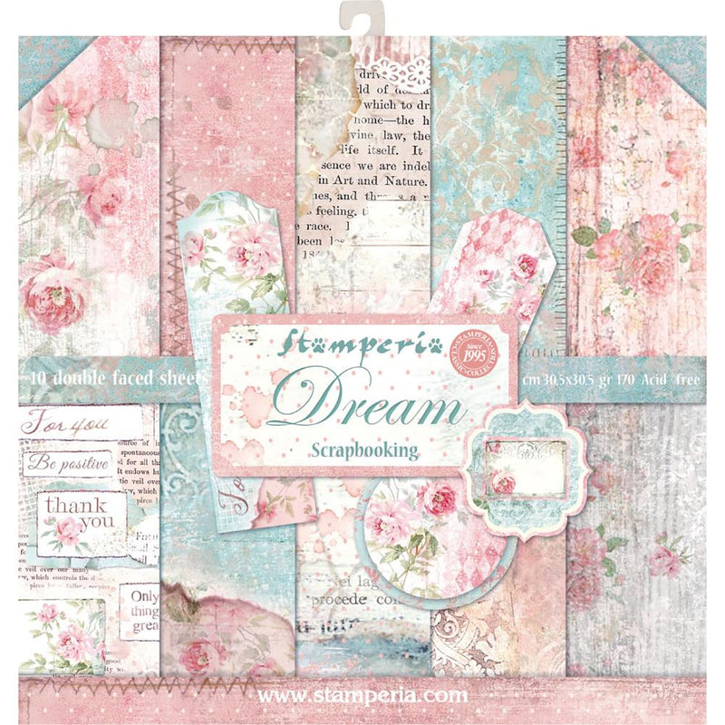 Stamperia Double-Sided Paper Pad - Dream