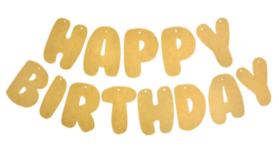 BTP - Happy Birthday Banner