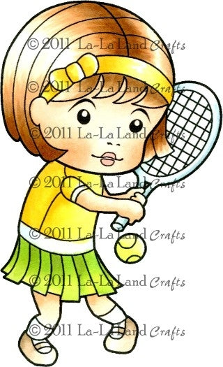 La-La Land Stamps 'Tennis Marci'