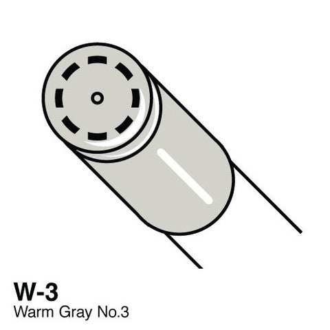 Copic Ciao W3 Warm Gray No3