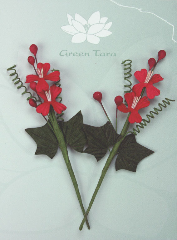 Xmas Bouquet Red Green