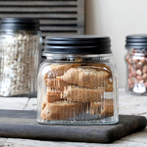 Storage Jars and Glass Canisters