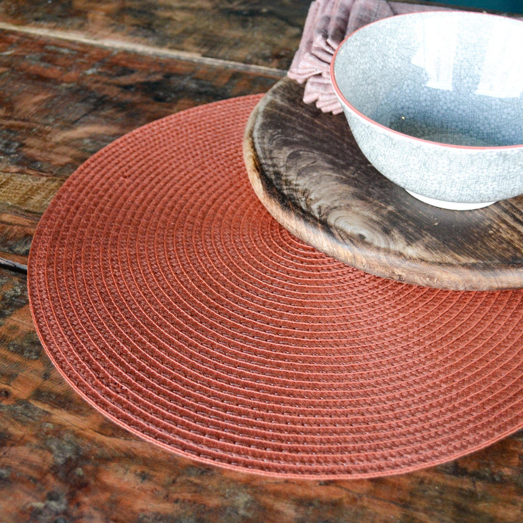 Round Placemat - Terracotta - Liv's