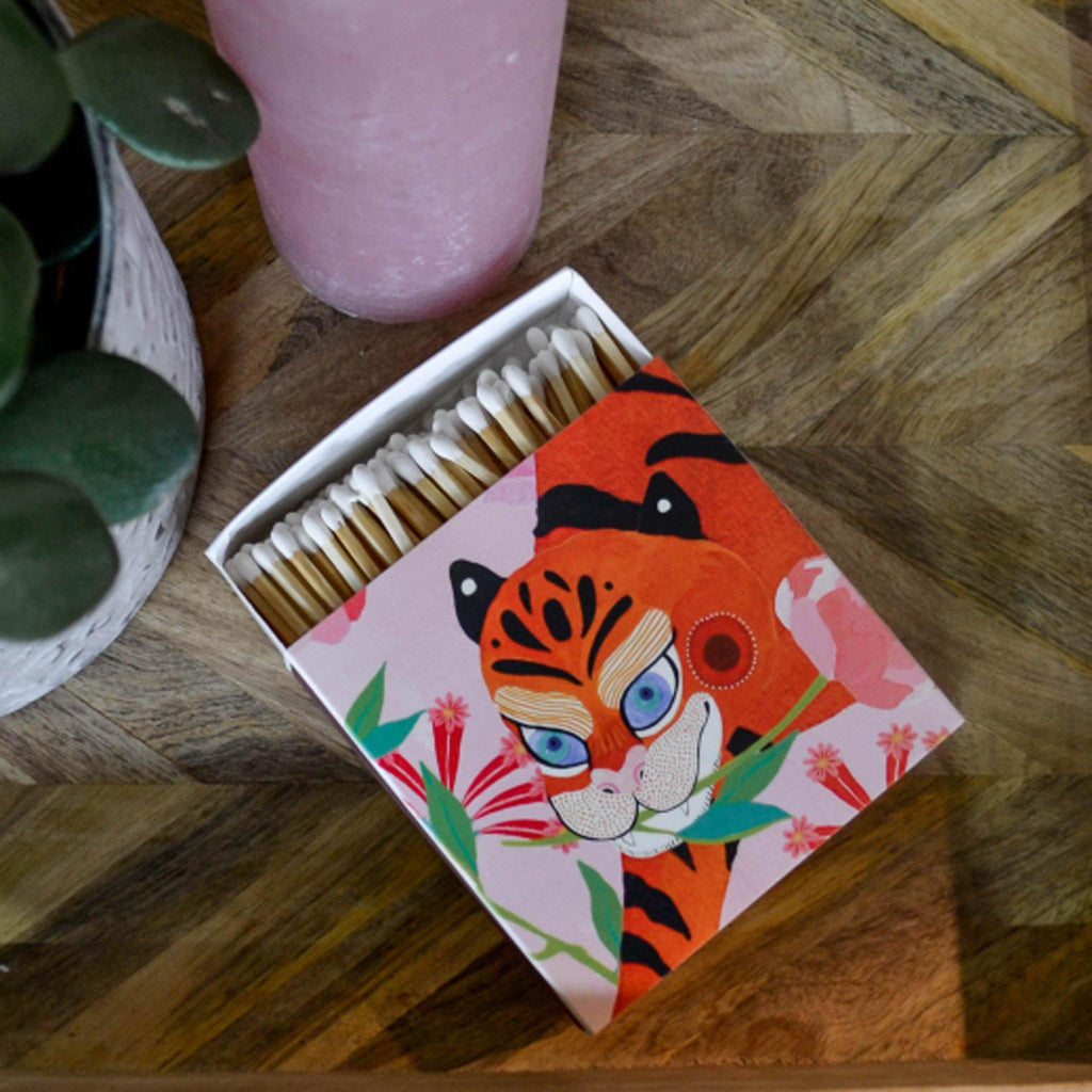 Matches - Tiger with Peony - Liv's