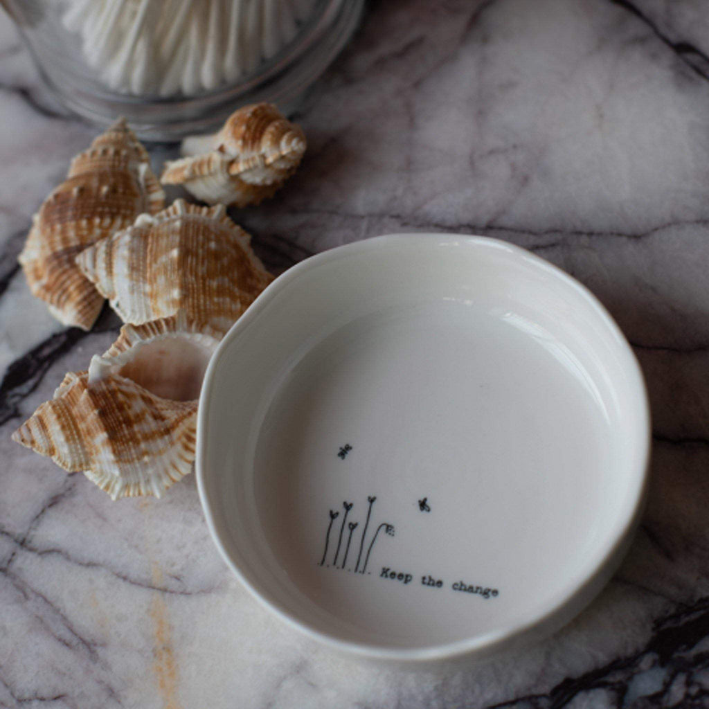 Keep The Change Porcelain Dish - Liv's
