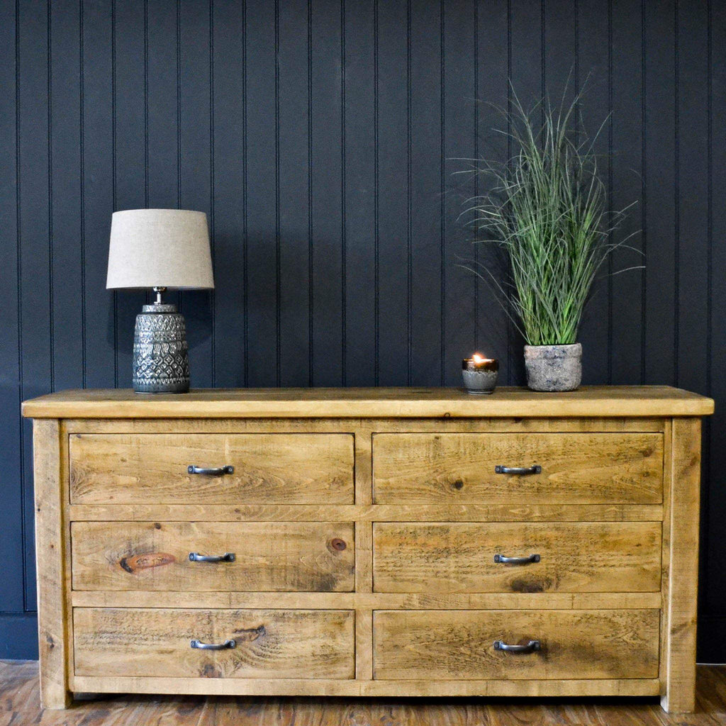 Sherwood - 6 Drawer Wide Chest - Liv's