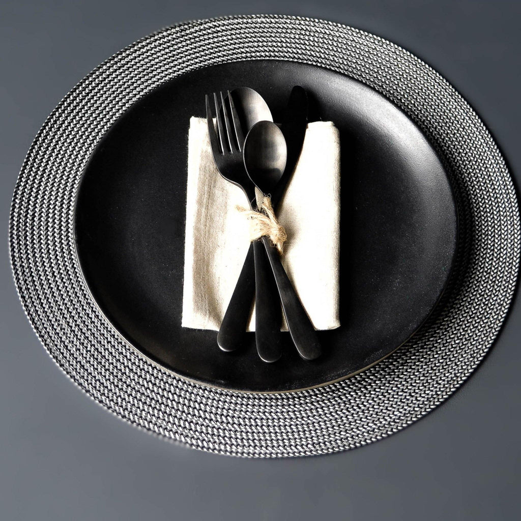 Round Silver Placemat - Liv's