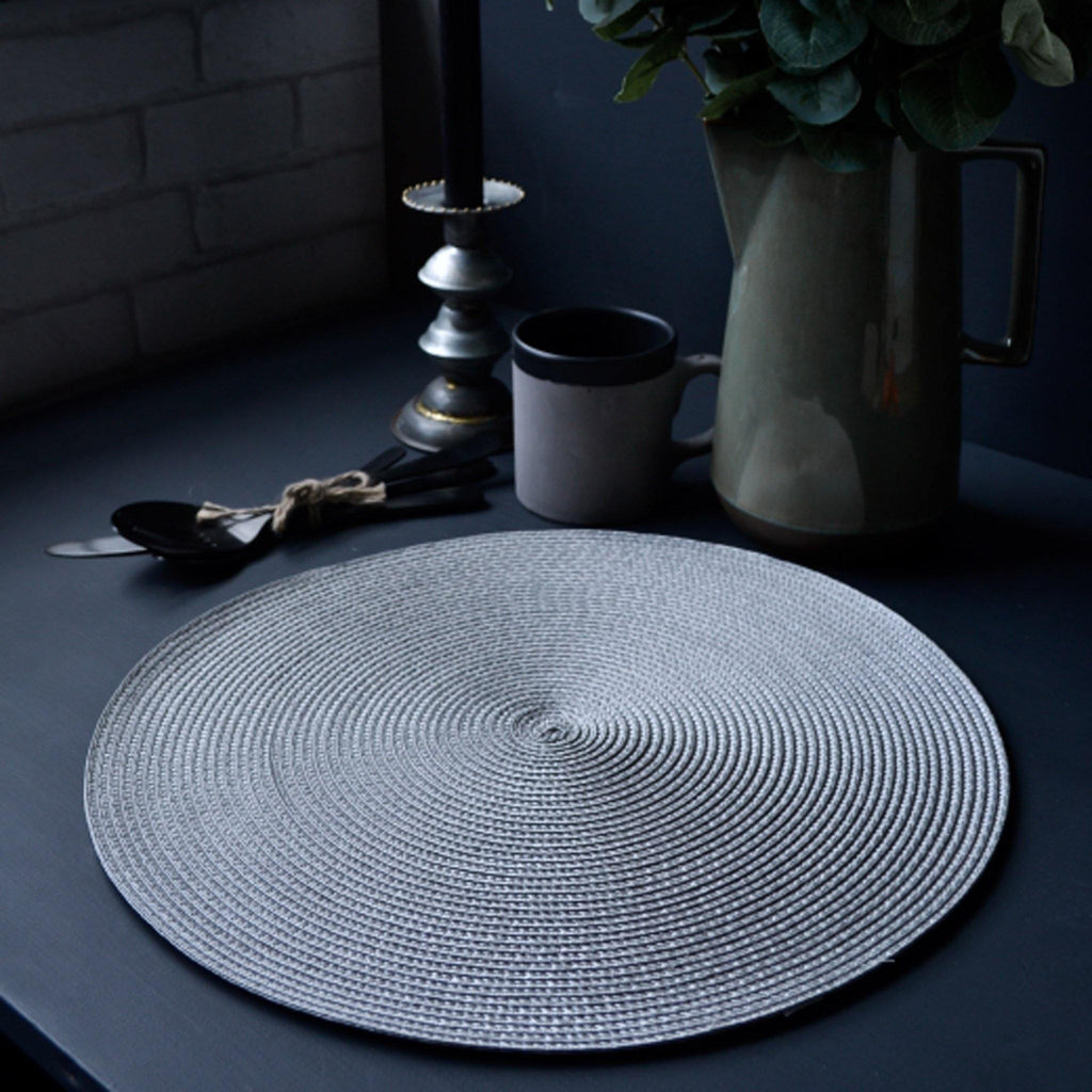 Round Placemat - Dove Grey - Liv's