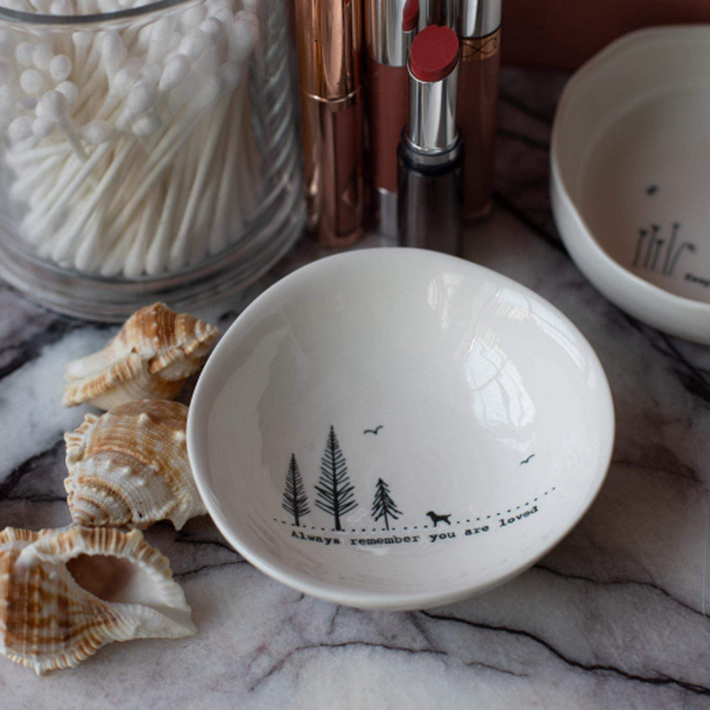 Always Remember You Are Loved Porcelain Bowl Dish - Liv's