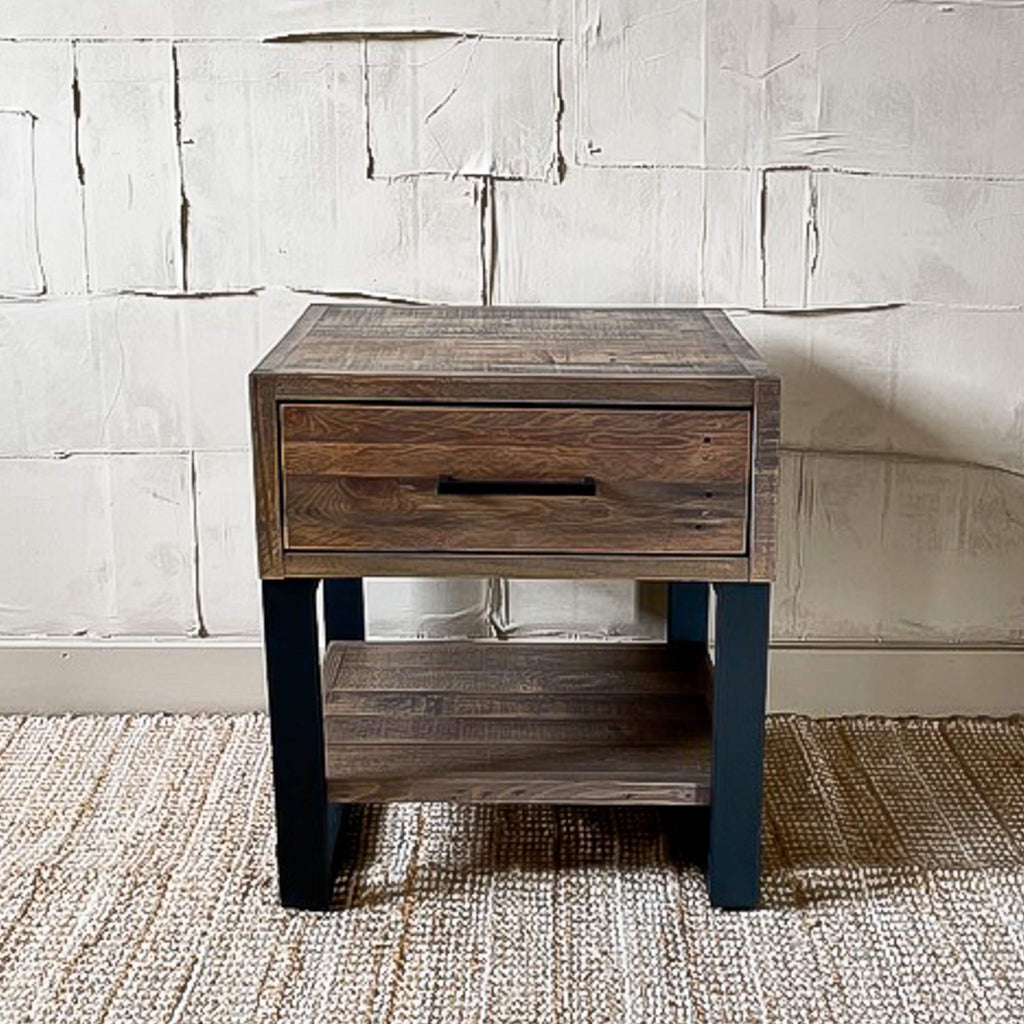 Digbeth - Lamp Table with Drawer - Liv's