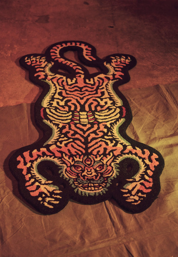 All seeing tiger Rug