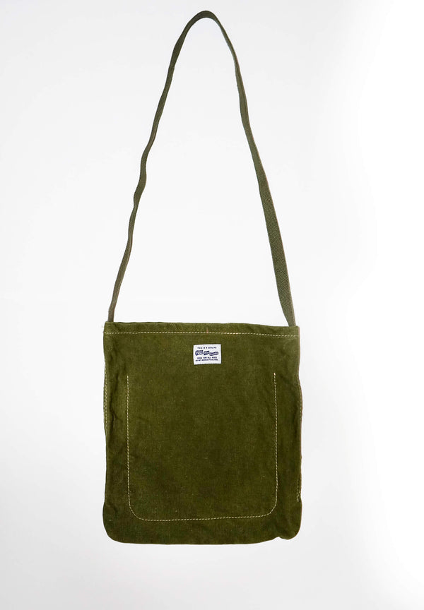 UPCYCLED Olive Sling Bag