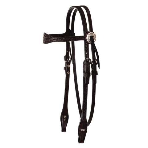 Julie Goodnight Leaf Browband Headstall