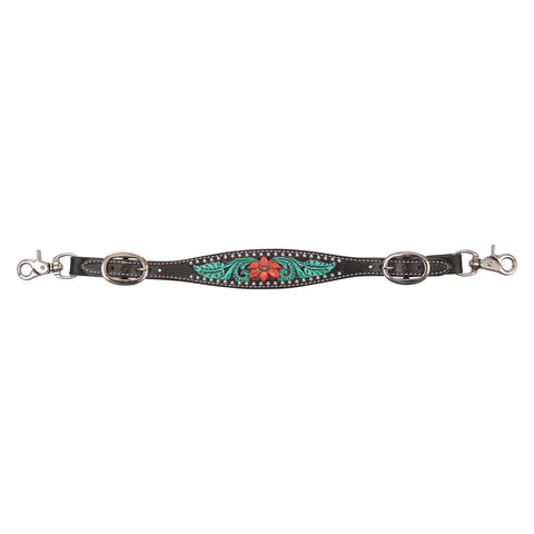 Circle Y Cactus Flower Wither Strap