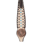 Circle Y Dakota Pinwheel Browband Headstall