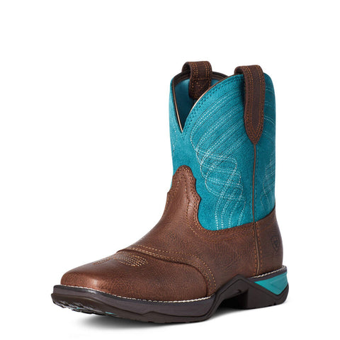 Ariat Women's Anthem Dark Barley Shortie Western Boot