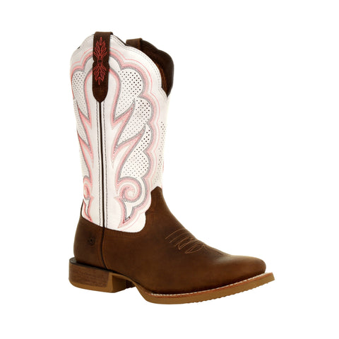 Durango Women's Rebel Pro White Ventilated Western Boot