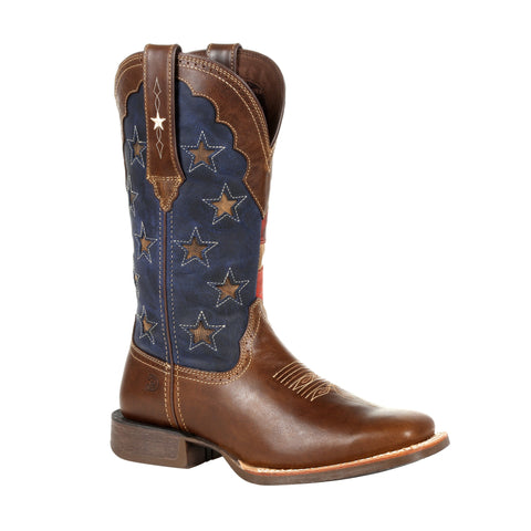 Durango Women's Rebel Pro Vintage Flag Western Boot