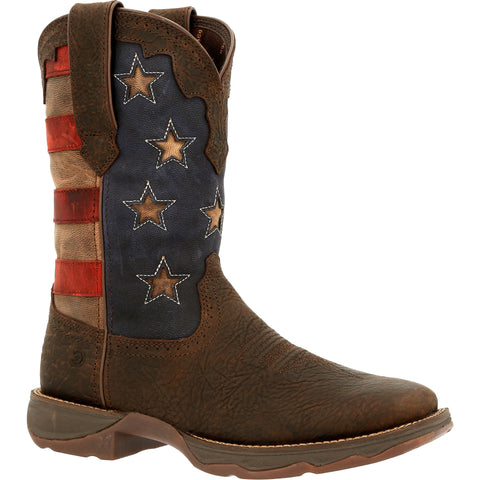 Durango Women's Rebel Vintage Flag Western Boot