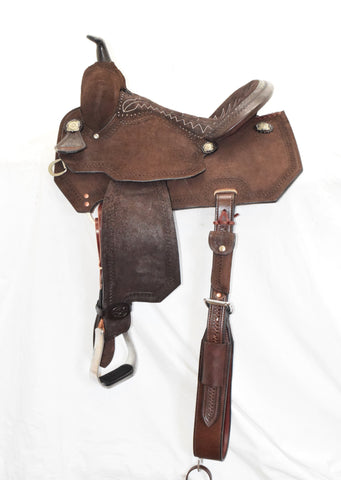 "Charmayne James 14.5"" Barrel Racer 4291-145CC-05 Wide Bar"