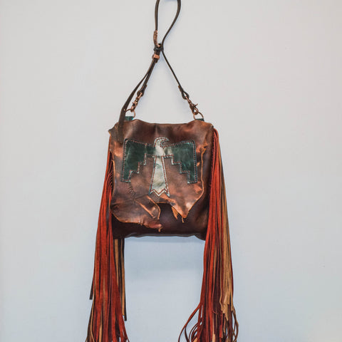 Thunderbird Fringe Cross Bag