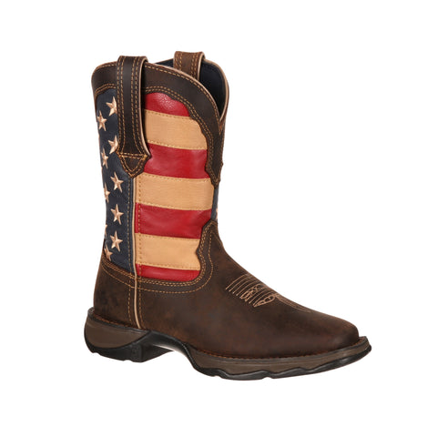 Durango Women's Rebel Patriotic Western Flag Boot