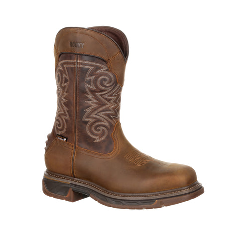 Rocky Men's Iron Skull Composite Toe Waterproof Western Boot