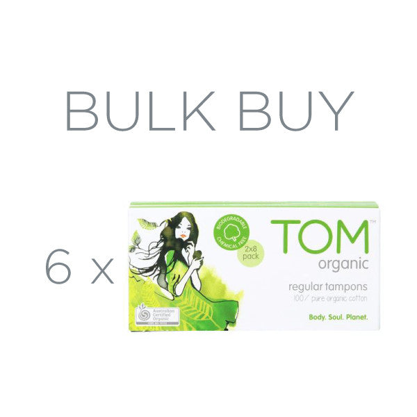Regular Tampons Bulk 6 Pack