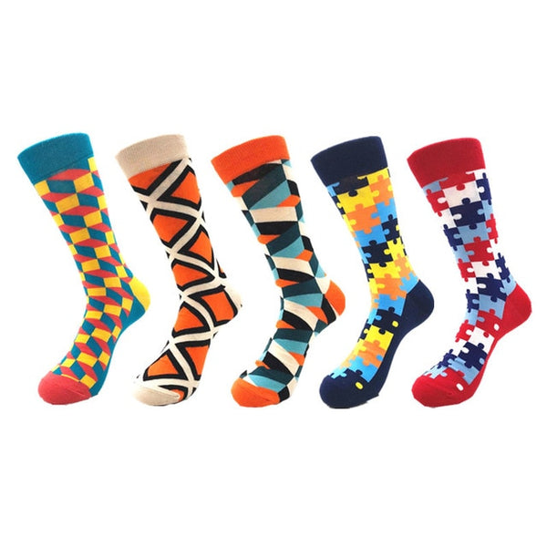 5-Pack of Happy Reasonable Socks