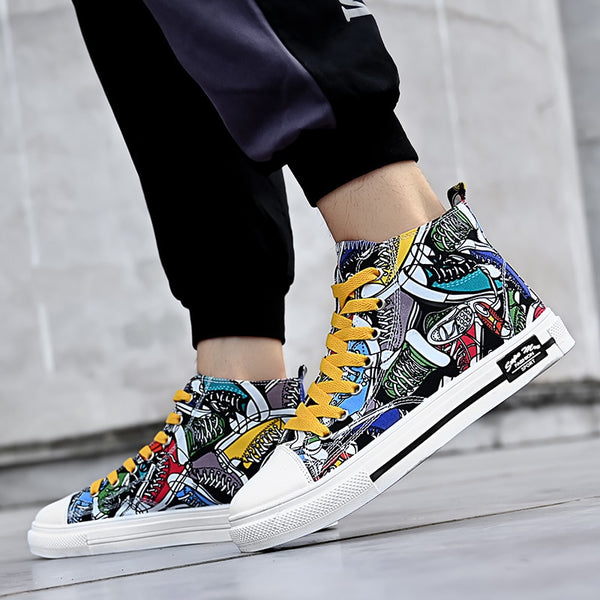 Graffiti Sneakers