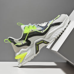 CYBERPUNK 'String Paradigm' Sneakers Electric Green
