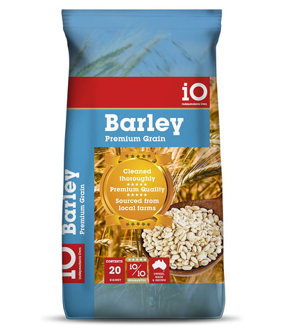 iO - Cracked Barley 20kgs