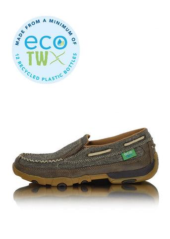 Twisted X - Mens Casual Driving Mocs Boat Slip Ons