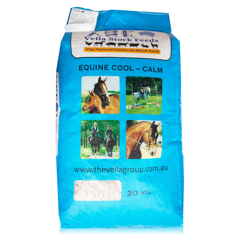 Vella - Equine Cool-Calm Pellets 20kgs