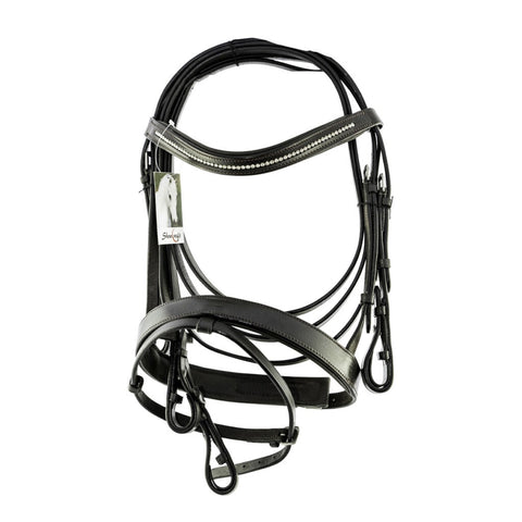 Krystal Hanoverian Bridle with Bling Browband